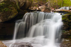 Waterfall at Kaaterskill. Taken with a slow shutterspeed Stock Images