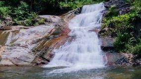 Waterfall,Kachong Waterfall south of thailand Royalty Free Stock Photo