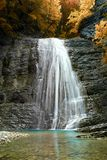 Waterfall on the Kamenistaya River Royalty Free Stock Photos