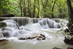 Waterfall in Kanchanaburi Stock Images