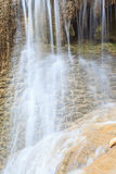 Waterfall in Kanchanaburi (Huay Mae Kamin), Thailand Royalty Free Stock Photo