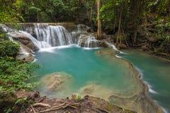 Waterfall in Kanchanaburi Stock Photos