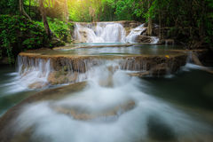 Waterfall in Kanchanaburi Royalty Free Stock Photo