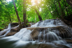 Waterfall in Kanchanaburi Stock Image