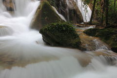 Waterfall in thailand Royalty Free Stock Photos