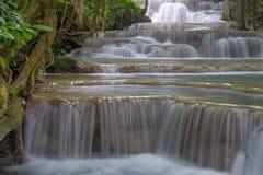 Waterfall. At Kanchanaburi province, Thailand Stock Photography