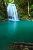 Waterfall in Kanchanaburi, Thailand Stock Photography