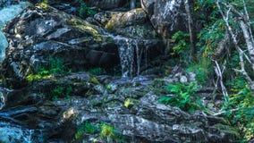 Waterfall in the Karelia. Small waterfall in the Karelia Stock Photo