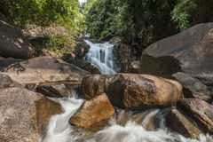 Waterfall. Kating waterfall chanthaburi  in Thailand Stock Photography