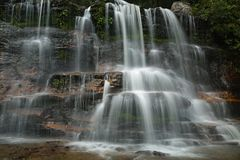 Waterfall in Katoomba Royalty Free Stock Images