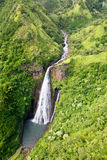 Waterfall on Kauai Stock Photo