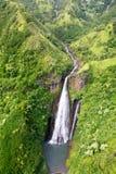 Waterfall on Kauai Royalty Free Stock Photo