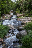 Waterfall in Kent, CT Stock Images