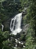Waterfall in kerala Royalty Free Stock Photography