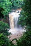 Waterfall at Khao Yai National Park Stock Photos