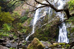 Waterfall Khlong lan Royalty Free Stock Photography