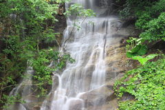 Waterfall. Khou to saa Waterfall at Phuket Thailand Stock Images