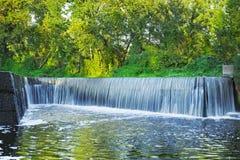 Waterfall in Kiev Royalty Free Stock Image