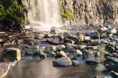 Waterfall at kimmeridge Stock Image