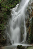 Waterfall known as La Plana Stock Image