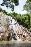 Waterfall on Koh Samui Stock Photography