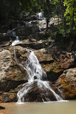 Waterfall on Koh Samui island Stock Image