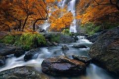 Waterfall. Konglan in kampangpejt provice Thailand Royalty Free Stock Photos