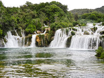 Waterfall in Kornati region, Dalmatia, Stock Images
