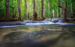 Waterfall in Krabi, Thailand royalty free stock photos