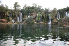 Waterfall Kravice, Bosnia and Herzegovina. Waterfall Kravice in Bosnia and Herzegovina Royalty Free Stock Photo