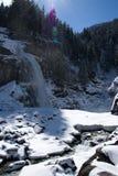 Waterfall Krimml, Pinzgau, Austria Stock Image