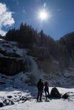 Waterfall Krimml, Pinzgau, Austria Stock Photos