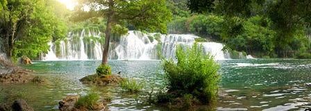 Waterfall Krka Stock Photography