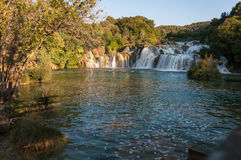 Waterfall, Krka National Park, Croatia Stock Photo