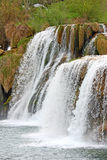 Waterfall on Krka river Royalty Free Stock Photos