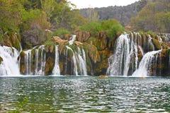 Waterfall on Krka river Stock Photography