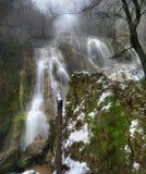 Waterfall  Krushuna in winter Royalty Free Stock Photography