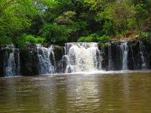 Waterfall La Perla Royalty Free Stock Images
