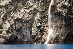 Waterfall in Laguna 69 Royalty Free Stock Photos
