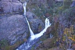 Waterfall in Laguna de Laja National Park, Chile Royalty Free Stock Photo