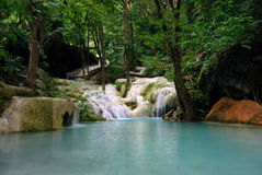 Waterfall lake nature swimming pool Stock Photography