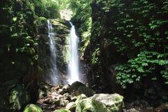 Waterfall in Lamington NP stock photo