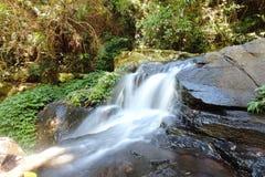Waterfall in Lamington NP royalty free stock image