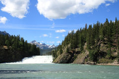 Waterfall Landscape Stock Image