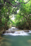 Waterfall landscape in deep forest. Of Thailand Stock Photo