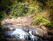 Waterfall. Landscape water stock photography