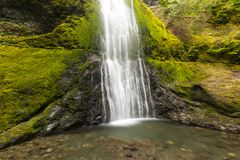 Waterfall, Landscape, west coast, travel, tourism, oregon, OR, USA stock image