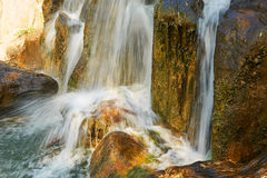 The waterfall landscape xian Royalty Free Stock Photo