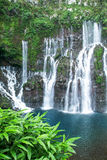The waterfall of Langvin on La Reunion island Royalty Free Stock Photography
