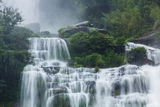 Waterfall on Laos Stock Image